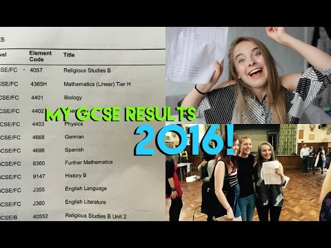 MY GCSE RESULTS 2016! | Eve