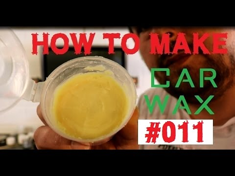homebrew car wax - how to make a car wax Part11