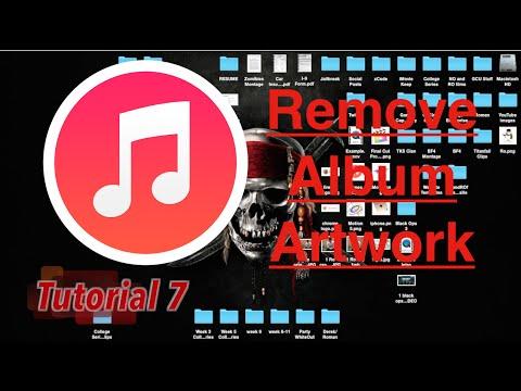 Remove Album Artwork in iTunes 12   Tutorial 7