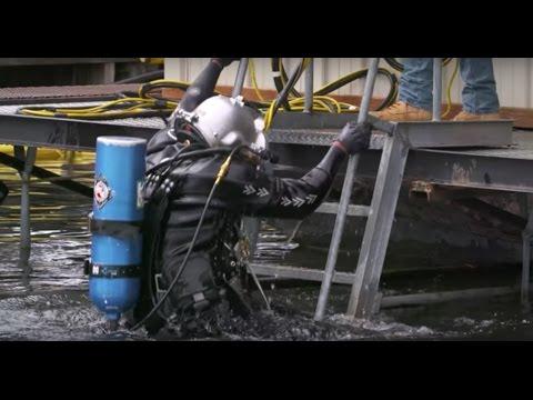 Veterans learning for dive career