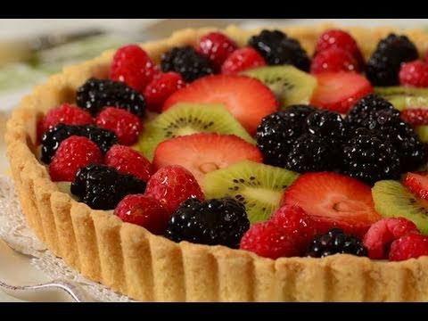 Fruit Tart Recipe Demonstration - Joyofbaking.com