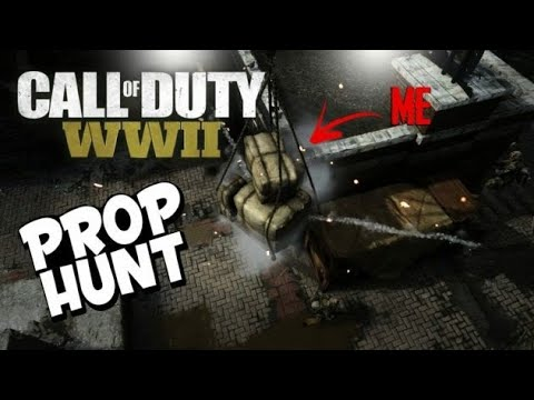 CALL OF DUTY WW2 PROP HUNT