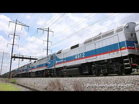 NJ Transit Equipment move - 3 Metro-North F40PH-3Cs on the NEC