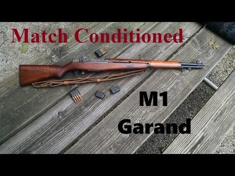 Old School Match Conditioned M1 Garand