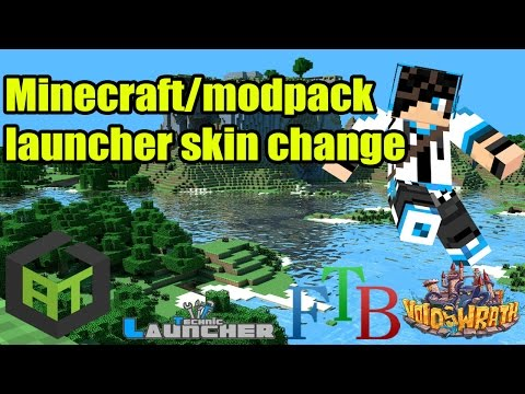 HOW TO CHANGE YOUR SKIN IN MINECRAFT! CRACKED OR MODPACK (atlauncher/FTB/VoidLauncher/etc)