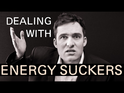 How to Deal With People Who SUCK Your Energy! Protecting From Energy Vampires Draining Your Energy