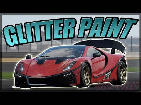 How to get Glitter Paint | Forza Motorsport 7 | Tutorial