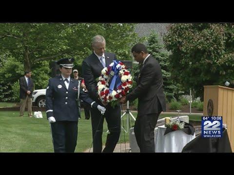 Gov. Baker salutes western Massachusetts veterans on Memorial Day