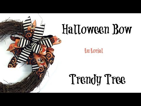 2017 Halloween Bow using the Terri Bow Technique and Pro Bow