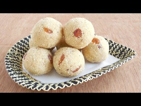 How to make Rava Laddu?