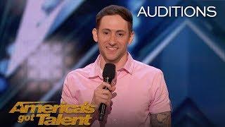 Samuel J. Comroe: Comedian With Tourette Syndrome Impresses Crowd - America