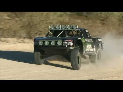 ROBBY GORDON test for BAJA1000 08