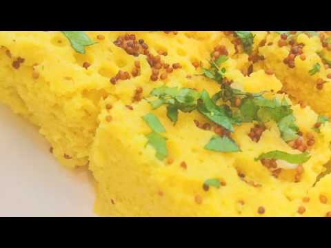 How to make dhokla in microwave in 5 mins. | Khaman dhokla in microwave recipe | Easy Gujarati snack