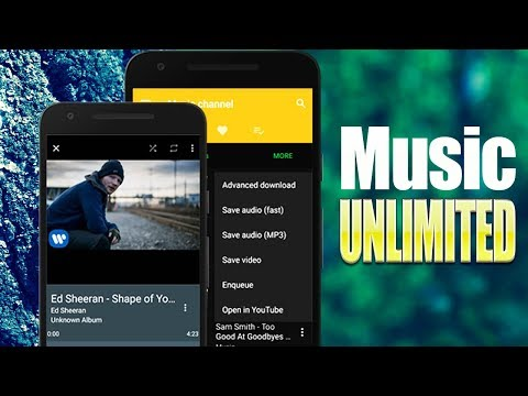 Best App to Download / Streaming Music for FREE On Android 2017 - Enjoy Music Unlimited