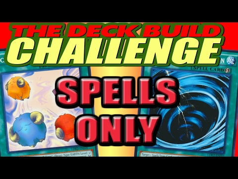 SPELLS ONLY - The Deck Build Challenge w/ Harcion