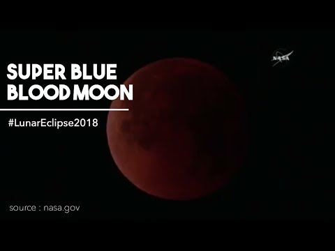 SUPER BLUE BLOOD MOON and LUNAR ECLIPSE 2018