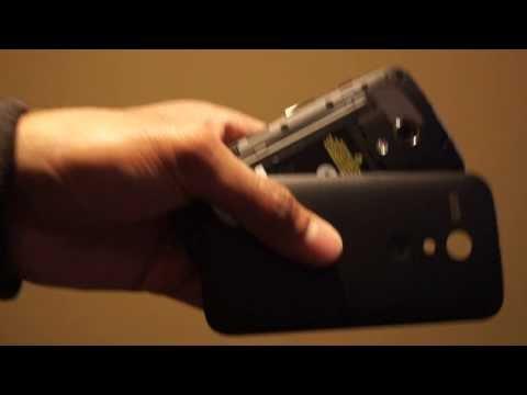 How to Remove Back Cover / Battery Door of Motorola Moto G / Moto G LTE / Moto G 4G
