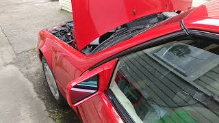 Mercedes M119 motor camshaft advance mechanism  Mine was jammed