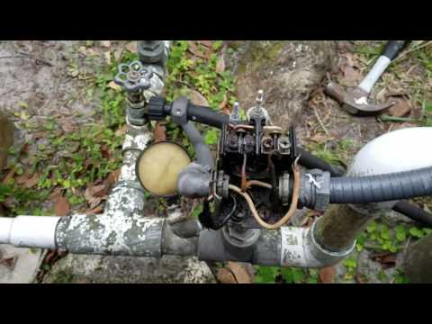 How to fix a well pump pressure switch part 1