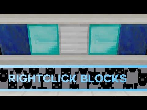 Rightclick Blocks in Minecraft [Tutorial]