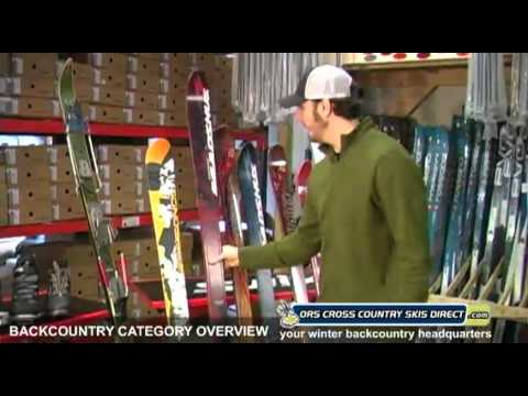 Backcountry Skis, Boots & Bindings Comparison Video by ORS Cross Country Skis Direct