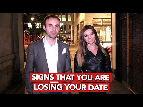 Signs that you are losing your date!