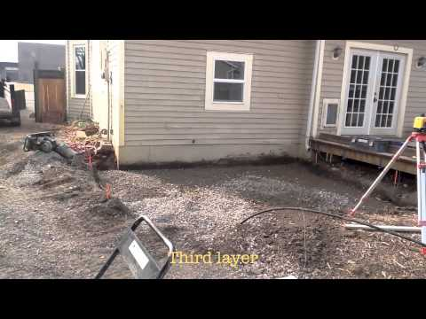 Paver 101 part 3 base install