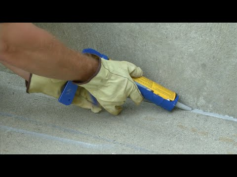 How to Repair & Seal Expansion Joints in Concrete