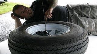 RV Spare Tire Relocation
