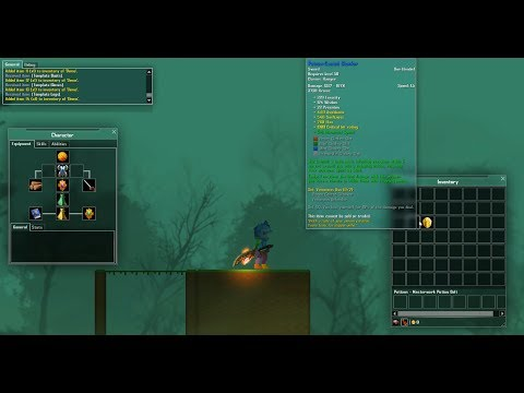 Indie 2D MMO Game Dev #4: ITEMS, INVENTORY & EQUIPMENT!