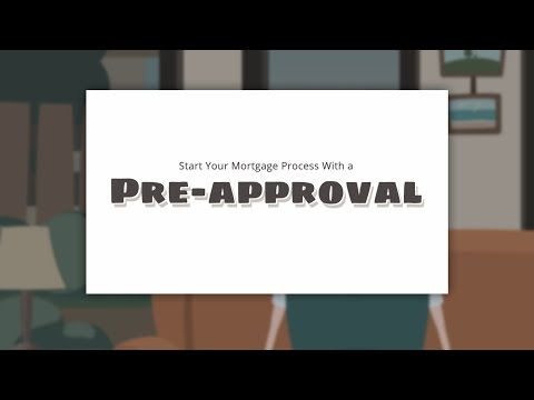 Pre-approval Starts the Mortgage Process
