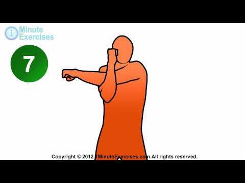 1 Minute Shoulder Stretches