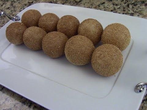 Sesame Balls Dim Sum Style (1/2)