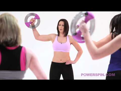 Powerspin by Powerball - 'Bingo Wings Buster' Exercise Class