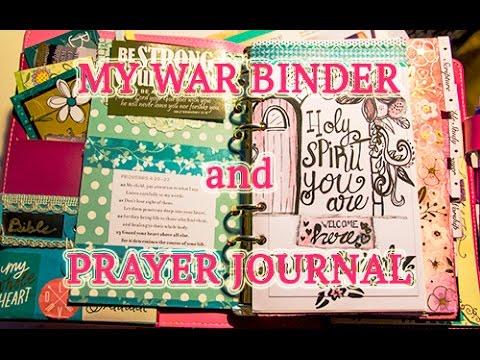 My War Binder / Prayer Journal: Walk Through and Advice