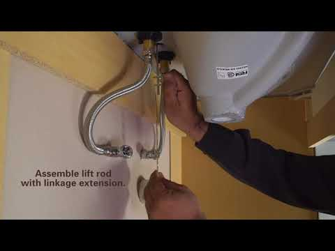 How to Install EasyPOPUP Pop-Up Drain by PF WaterWorks