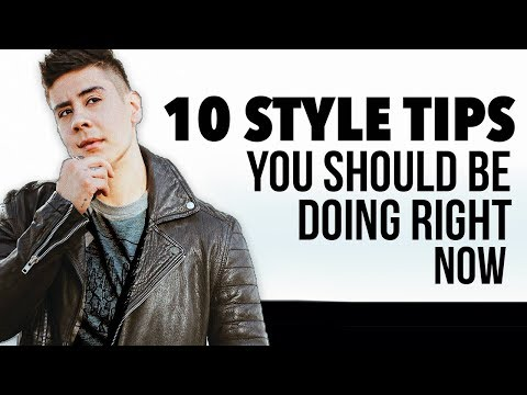 10 STYLE TIPS YOU SHOULD BE DOING for 2018 | JAIRWOO