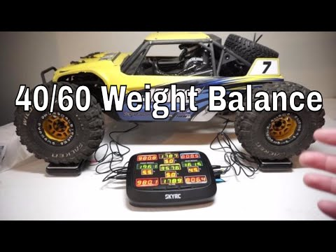 Getting Perfect Weight Balance for RC? Unbox SkyRC Corner Weight System