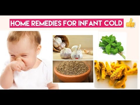 How To Treat Infant Cold | Quick Home Remedies For Cold(Newborn - 6 Months) | Mumsworld
