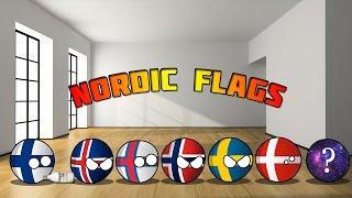 Countryballs   Nordic Flags