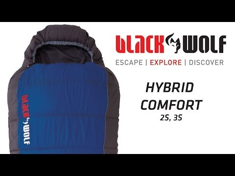 BlackWolf Hybrid Comfort Sleeping Bag