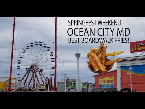 Ocean City Maryland - World Famous Boardwalk Fries - Springfest!