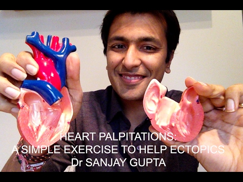 Heart Palpitations: A simple exercise to help ectopic heart beats
