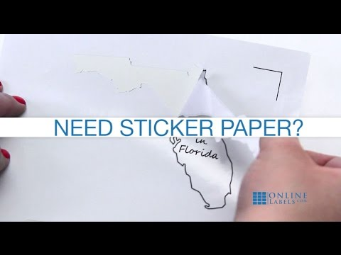 Printable Sticker Paper for Your Cutting Machine
