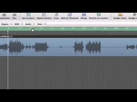How to Time Stretch Audio in Logic Pro