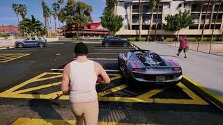 GTA 5 NEW REDUX INSANE GRAPHICS MOD GAMEPLAY 2017