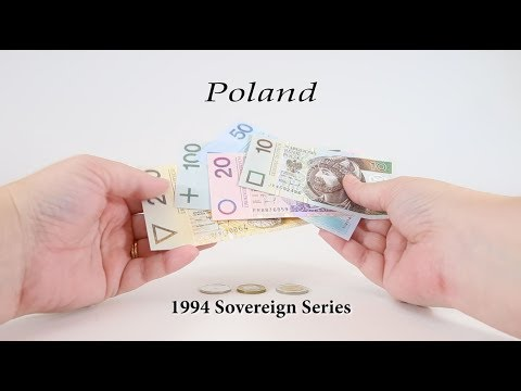 Episode #15 - POLAND - 1994 Sovereign Series Złotych Banknotes