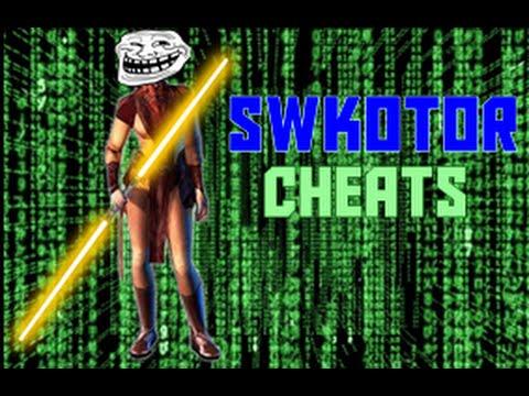 SWKOTOR: Cheats not working? (fix)
