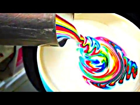 Most Satisfying Coffee Free Pour Compilation On YouTube! - MUST SEE Latte Art ! -