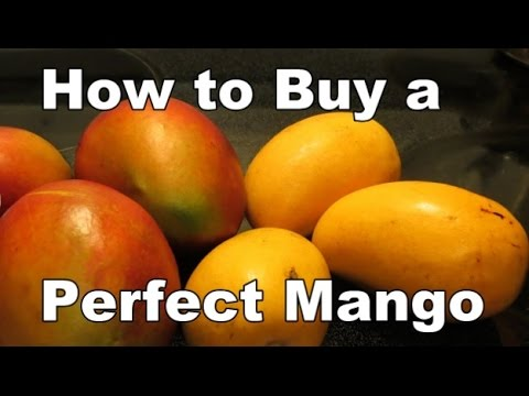 How to Buy a Perfect Mango